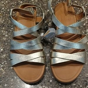 FITFLOP LUMY LEATHER SANDALS